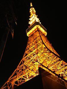 oinari on PIXMOS  Tokyo tower  http://pixmos.net/photo/116877175030417623