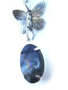 Swarovski Crystal Necklace Extremely Rare by BreatheCouture, $45.00