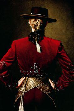 'Rejoneadora'* by Christian Galliard. (*rejoneadora : female horse rider or bullfighter )