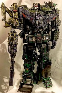 Transformers Custom Devastator Combiner Wars Collectors Movie Set Style By D.M | eBay