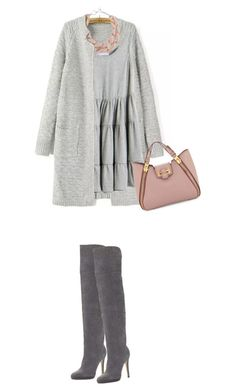 """""""Fall look #2"""" by perlarara ❤ liked on Polyvore featuring Jimmy Choo, DIANA BROUSSARD and Tom Ford"""
