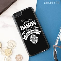 Team Damon Since ... shop on http://www.shadeyou.com/products/team-damon-since-hello-brother-the-vampire-diaries-iphone-7-case-iphone-6-6s-plus-iphone-5-5s-se-google-pixel-xl-pro-htc-m10-samsung-galaxy-s8-s7-s6-edge-cases?utm_campaign=social_autopilot&utm_source=pin&utm_medium=pin #samsungcases #iphone7case #phonecase
