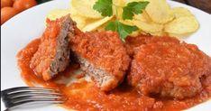 Filetes rusos en salsa de tomate