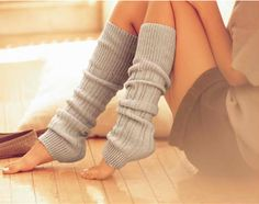 ...essential to me with pointe,and now that bootsocks are a thing,I have a million more to choose from.I love wearing them aroung the house,too...very cute with a long flannel or huge sweatshirt,cozy...§