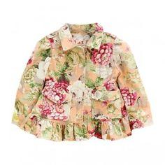Josie Floral trench coat