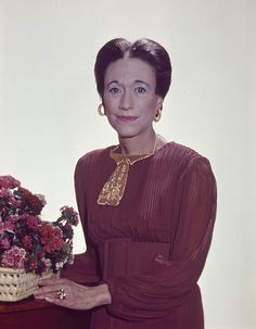 Original 6x9 color Kodachrome 64 slide of H.R.H Duchess of Windsor 1971 by Yousuf Karsh