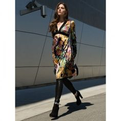 Robe n°124 de Burda Style Septembre 2012