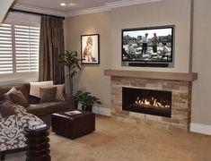 55+ Luxury Fireplace Decor Ideas On Budget #fireplace #decorideas #budget