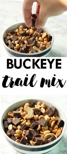 This Buckeye Trail Mix is a perfect snack or sweet dessert to grab on the go…