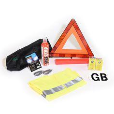 Euro Travel Kit European Car Travel Kit Fire Extinguisher French Breathalysers…
