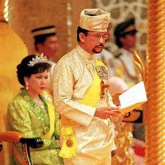 Hajji Hassanal Bolkiah Muhizzaddin, sultão de BRUNEI