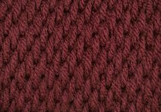 Tunisian Full Stitch (Tfs) - Tons of other good stitches on this site.