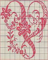 Ancient old cross stitch alphabet (21)