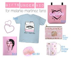 CHRISTMAS GIFTS IDEAS UNDER $20 for melanie martinez fans