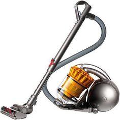 Dyson DC39 Multi-Floor Canister Vacuum, 22523-01, Orange