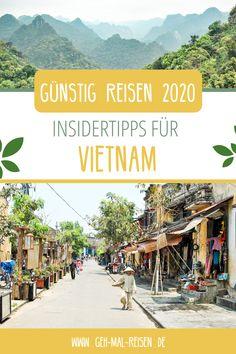 Du willst 2020 reisen, suchst aber nach günstigen Reisezielen? Wie wäre es denn mit Vietnam? Strände, Tempel, Reisfelder und eine interessante Kultur: ein Urlaub in Vietnam ist immer ein Erlebnis und dabei extrem günstig! Auf unserem Reiseblog zeigen wir dir neben vielen Reisetipps auch alle Kosten für eine Vietnam-Rundreise. So kannst du easy Geld sparen! #gehmalreisen #vietnam #reiseziele #günstigreisen #reisetipps #backpacking