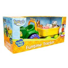 I Play On the Farm Funtime Tractor Toddler Toy | ToyZoo.com