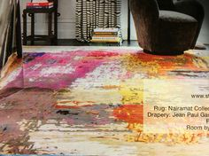 Love the colors of this rug