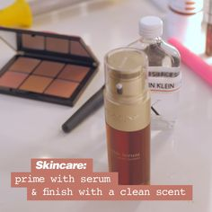 Clean Slate Look Always On Social - Macy's Beauty Care, Beauty Skin, Beauty 101, Hair Beauty, Mirabella Makeup, Face Care, Skin Care, Makeup Eye Looks, Makeup Eyes