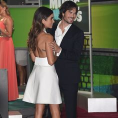 Pin for Later: Ian Somerhalder's Dad Dance Moves Are Too Cute For Words