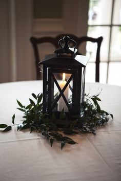pretty lantern centerpieces.  I really want to make these for Christmas table decor