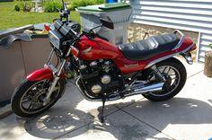 The 1984 Honda CB650SC Nighthawk.  An amazingly reliable and fun bike.