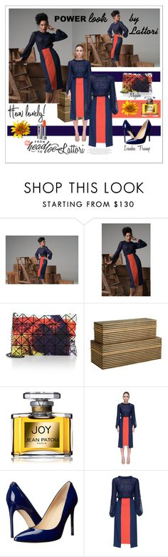 """""""Power Look Lattori"""" by lolly-p ❤ liked on Polyvore featuring Bao Bao by Issey Miyake, Barclay Butera, Jean Patou, Lattori and Ivanka Trump"""