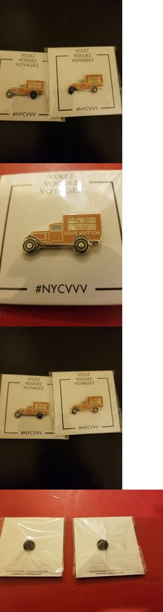 Pins and Brooches 50677: 2 Louis Vuitton Pin (Truck) Pintrill Volez Voguez Voyagez Exhibition -> BUY IT NOW ONLY: $35 on eBay!