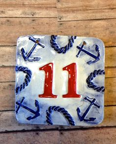 1000 images about house number tile on pinterest house for Bright houses number