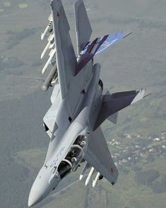 Russia to Test-Fly Air Superiority Fighter in Late Summer Luftwaffe, Aircraft Parts, Fighter Aircraft, Military Jets, Military Weapons, Air Fighter, Fighter Jets, Jas 39 Gripen, Russian Military Aircraft