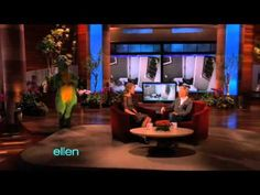 Ellen scares Taylor Swift