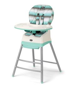 Look what I found on #zulily! Mod Mint Stack High Chair #zulilyfinds