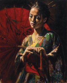 Женские образы Фабиана Переза (Fabian Perez)