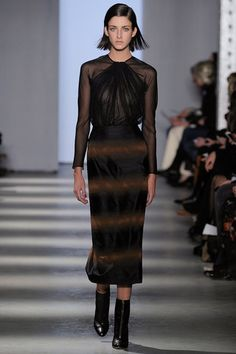 Darkly patterned and moorishly romantic at Wes Gordon.  Wes Gordon Fall 2014 Ready-to-Wear Collection Slideshow on Style.com
