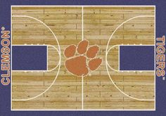 Milliken College Home Court Clemson Multi from the Milliken College Home Court collection. Shop from a wide selection of Milliken area rugs by color, size, or style available from Rugs. Nc State Basketball, Basketball Finals, Best Basketball Shoes, Basketball Uniforms, Basketball Court, Indoor Basketball, Basketball Tickets, Basketball Shooting, Basketball Information