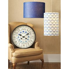 Luna Wall Clock - phases of the moon. Also love the constellation lamp!