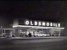 1960'S Oldsmobile Dealership