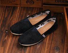 Toms Shoes Black Cord Womens Classics via http://www.oneforonelove.com/