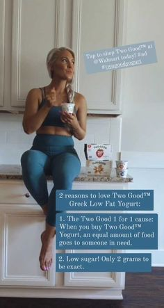 2 reasons to love Two Good™ Greek Low Fat Yogurt: 1. The Two Good 1 for 1 cause: When you buy Two Good™ Yogurt, an equal amount of food goes to someone in need. 2. Low sugar! Only 2 grams per serving to be exact. Tap to shop Two Good™ at @Walmart today! #ad #twogoodyogurt VID_89220401_045300_282.mp4 5.49 MB
