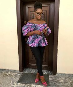 African Print Tops Designs : Look Good in These Fabulous Tops of 2018 - Zaineey's Blog FacebookTwitterGoogle+WhatsAppAddthis