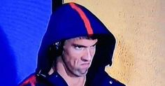 Michael Phelps' epic angry face has gone viral after he was caught grimacing at competitor Chad le Clos, and the fan reactions are hilarious
