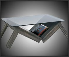 not your typical coffee table...
