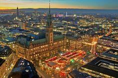 Xmas Market in Hamburg