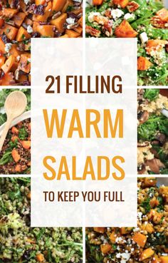 21 Filling Warm Salads to Keep You Full