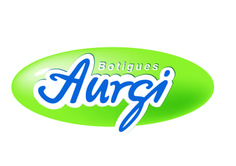 Logotipo de Aurgi en catalán en formato óvalo. www.aurgi.com