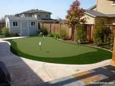 Project: Livermore, CA Backyard Putting Green