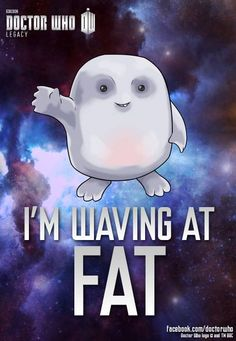 Adipose, the cutest who villians ever! Boy could i make a few of those guys!