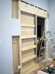 Etonnant How To Destroy Your Fears Install A Pocket Door, Diy, Doors, Home  Improvement