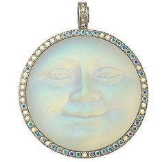KIRKS FOLLY MEGA SEAVIEW MOON MAGNETIC ENHANCER silvertone