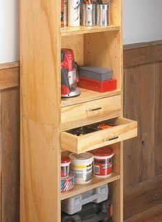 5 Easy-To-Build Plywood Projects | Woodsmith Plans - Five inexpensive plywood projects that add worksurfaces and storage to your shop.
